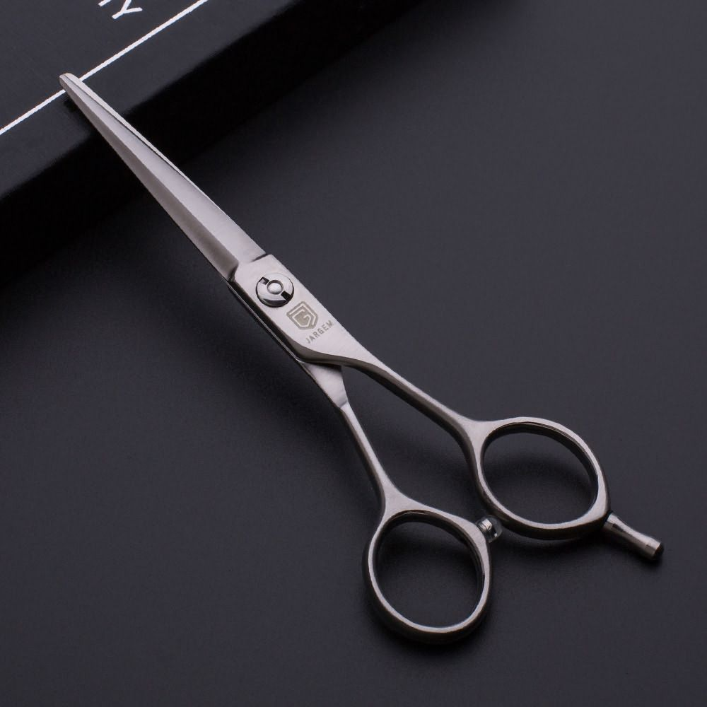 Classic matte design hairdressing scissors