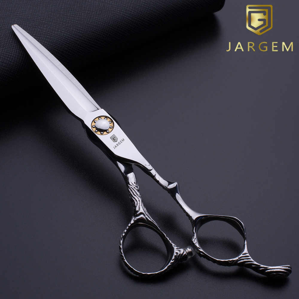 Ball bearing screw hair cutting scissors