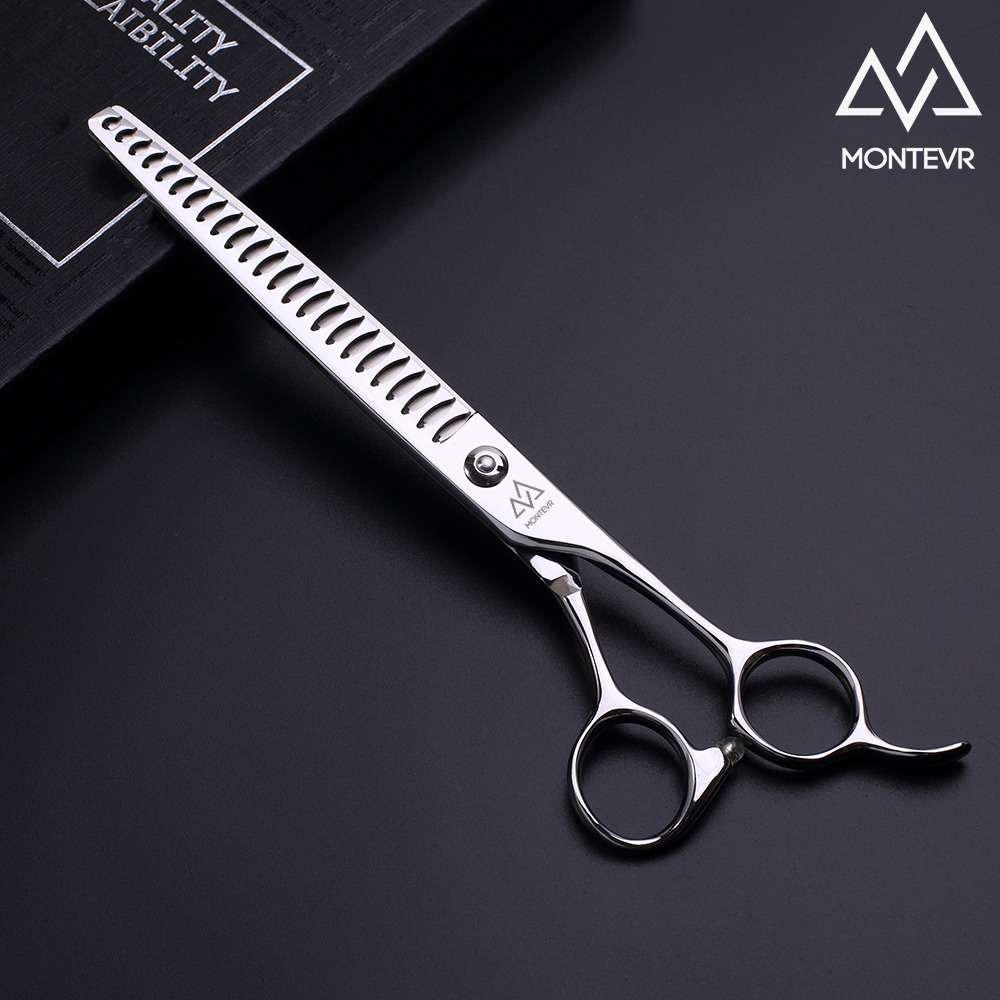 Professional pet grooming thinning scissors in 7.5 inch